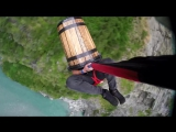 Extreme Bungy Jumping with Cliff Jump Shenanigans! New Zealand in 4K!